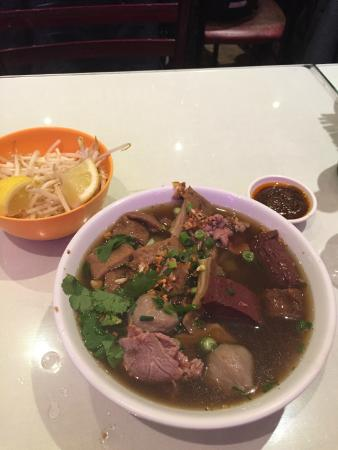 Tricotin : Soup with beef and tripes