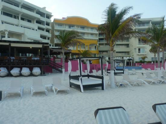Nyx Hotel Cancun Vista Desde La Playa