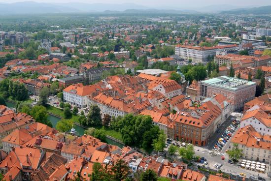 Galeria Rooms: The city of Ljubljana
