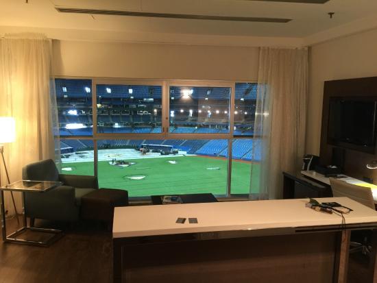 Blue Jays Hotel Room