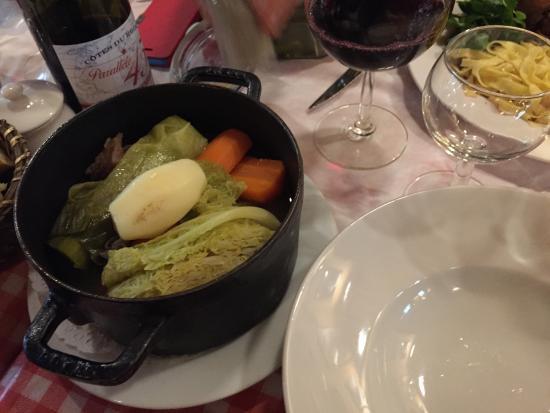 La Grille St-Germain: Pot-au-feu