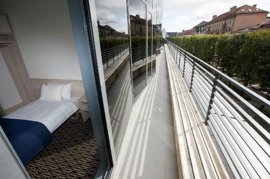 Kaunas City Hotel: Single room