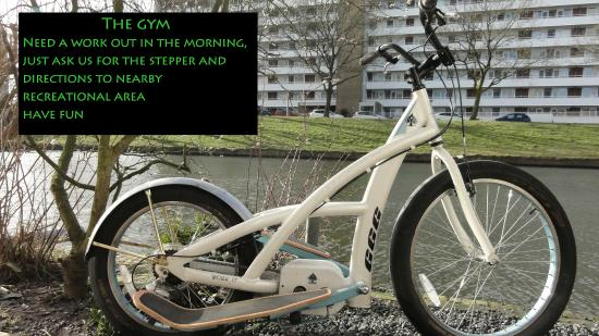 Bed and Breakfast Amsterdam West : The gym, have fun