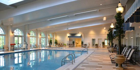 indoor pool complex picture of the hotel hershey. Black Bedroom Furniture Sets. Home Design Ideas