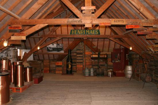De zolder van de oude brouwerij picture of de halve maan brewery bruges tripadvisor - Uitbreiding van de zolder ...