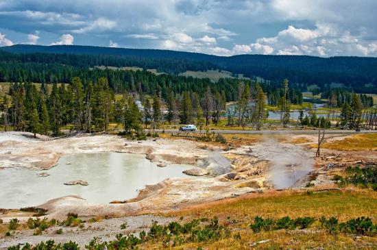 Yellowstone Geysers - Mud Volcano Area
