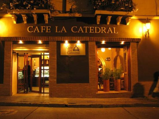 Jardin en la catedral cafe del centro picture of la for Cafe el jardin centro historico