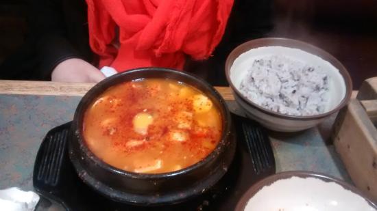 Buk Chang Dong Soon To Fu: Main course