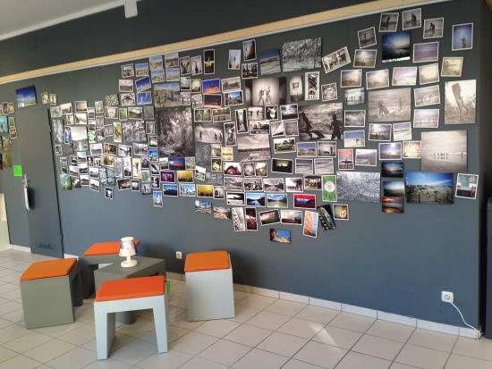 tolle fotowand bild von cafe bianconero m nchen tripadvisor. Black Bedroom Furniture Sets. Home Design Ideas