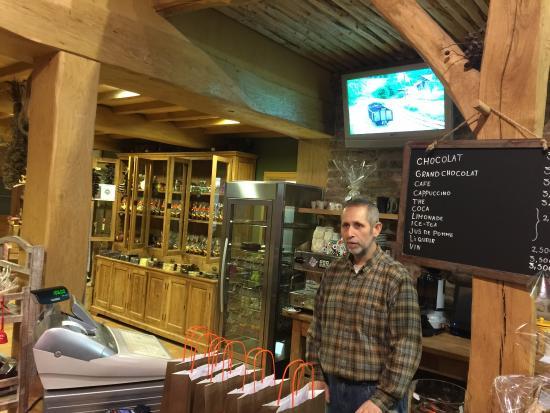 Chocolaterie Defroidmont: Amazing place