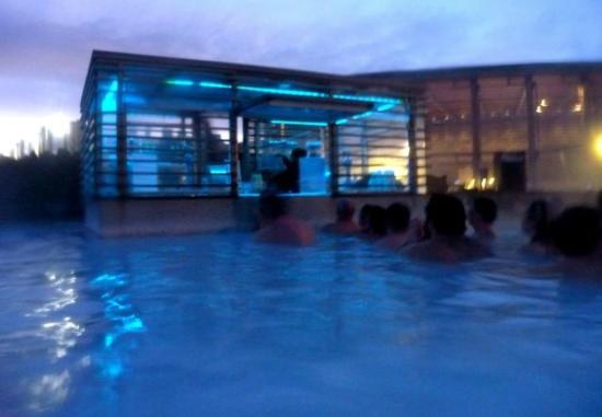 Blue Lagoon Pool Bar Picture Of Blue Lagoon Iceland