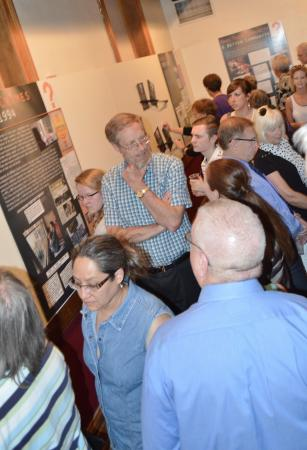 Western Heritage Center: Student-built exhibit, 'Who Are You, Who Are We?' On display through April, 2015.