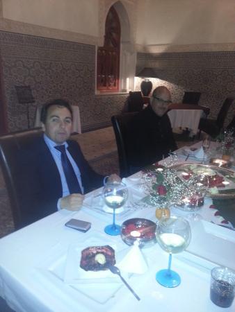 Palais Clementina: un dîner fabuleux
