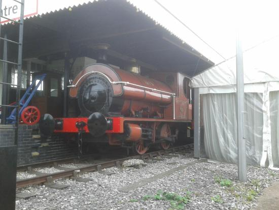 The National Brewery Centre: Steam Locomotive from the brewery railway