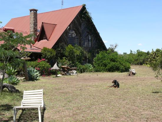 Sandai Homestay & Cottages: The main lodge.