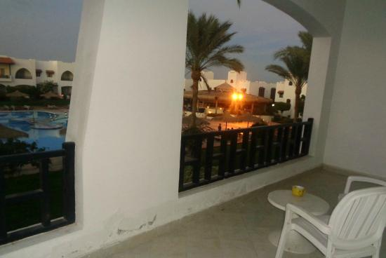Poinciana Sharm Resort & Apartments: № 132. Вид из номера.