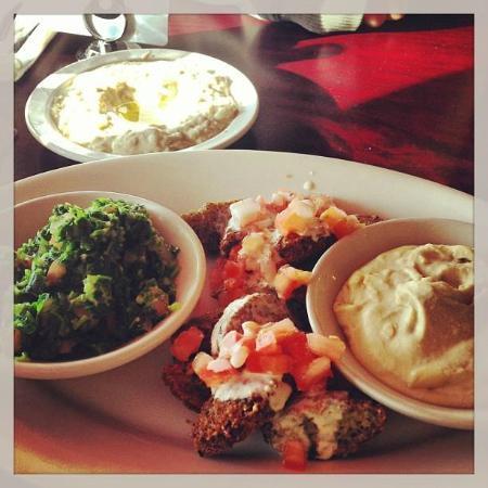Byblos Lebanese Grill: my Veggie Lover Plate
