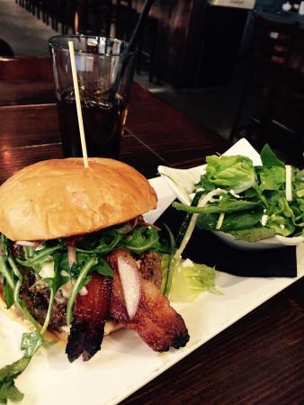 Byson Burger Picture Of Boiler House Texas Grill And Wine Garden San Antonio Tripadvisor