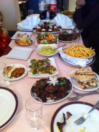 Palace Tandoori west drayton middlesex: Grilled lamb chops & other dishes
