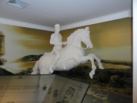 Casa Museo General Gregorio Luperón: Famous Pose