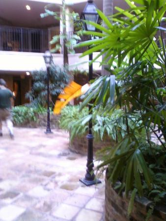 Hotel de la Monnaie: Indoor Courtyard