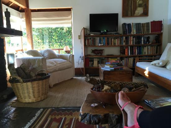 Hostal Muller: Sala de estar