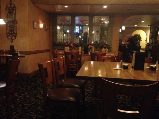 Florence, WI: Dinning area, looking in to the Bar