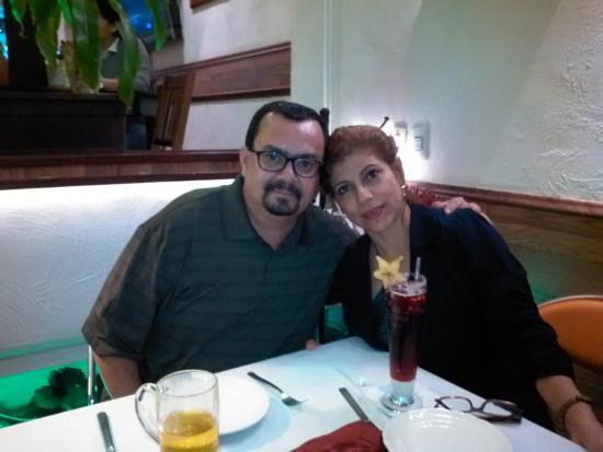 Kubli's Cafe Bistro: Alicia Ch.y Hector J. 02/13/2015