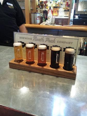 North Peak Brewing Company: Flight!