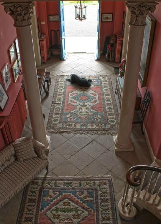 Duleek, Ierland: The front hall