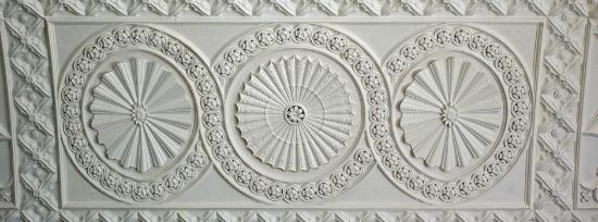 Duleek, Irlanda: ceiling in the banqueting hall