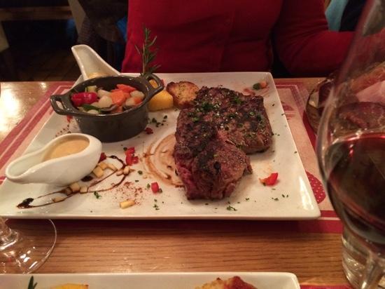 Brasserie du Petit Savoyard : great steak