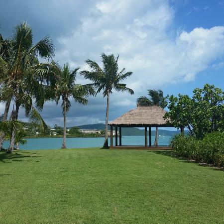 Whitsunday Sailing Club: The beautiful gazebo and views