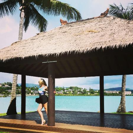 Whitsunday Sailing Club: The gazebo the best place to be