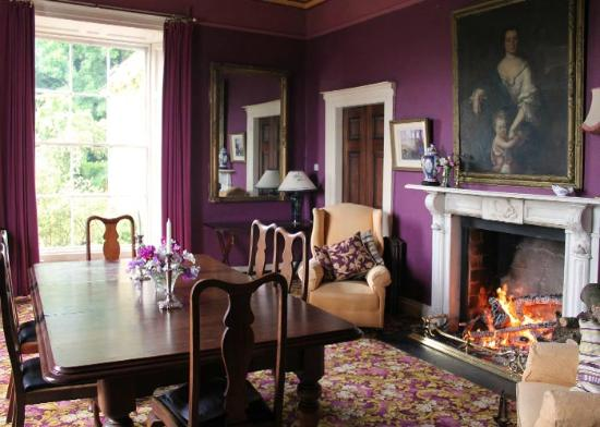 Duleek, Irland: The dining room