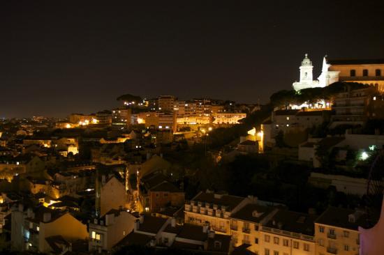 Olissippo Castelo: De la terrasse, vers le Nord