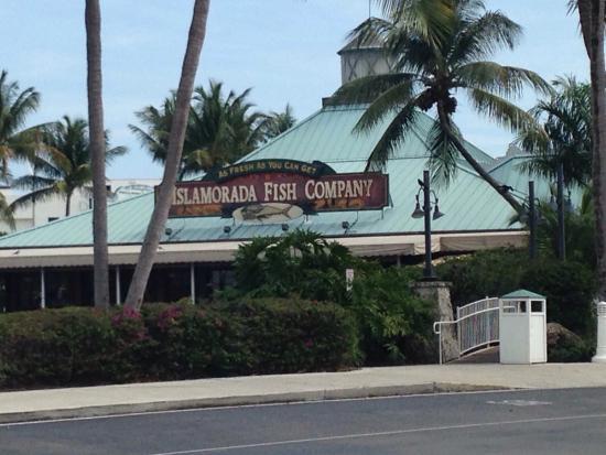 Islamorada Fish Company : Exterior of the restaurant.