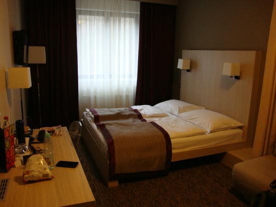 Hotel Voyage: wygodne, dwuosobowe łóżko