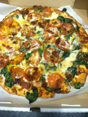 Marye's Gourmet Pizza: Bacon Spinach