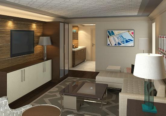 Coushatta Grand Hotel: Grand Hotel - room