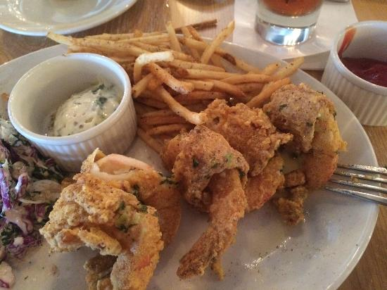 Bacon wrapped fried shrimp :-) - Picture of Legacy Kitchen, Metairie ...