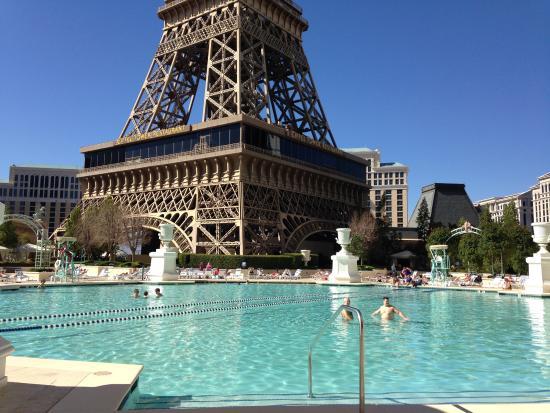 Foto de paris las vegas las vegas piscina tripadvisor for Paris hotel avec piscine