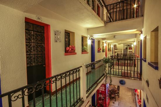 Áreas Comunes Hotel Nacional Oaxaca