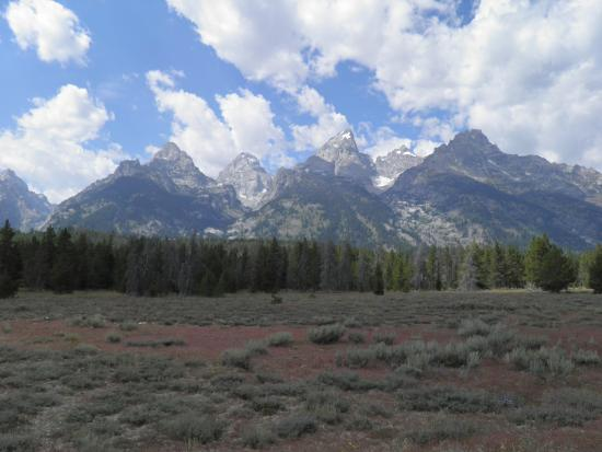 Flat Creek Inn: The nearby Grand Tetons
