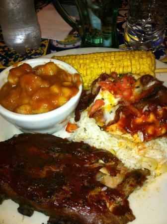 Chili's: Carne saborosa