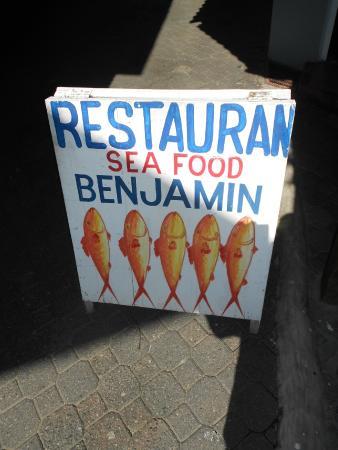 Benjamin Fresh Seafood by Sosua La Playa: SIGN