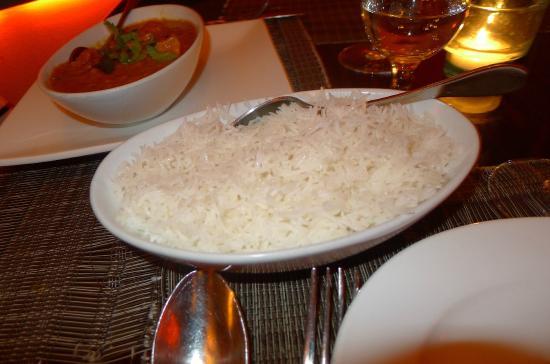 Mint: Basmati rice