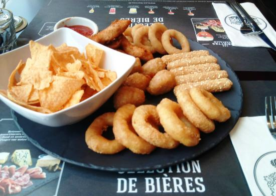 Au Bureau Finger food en entre Picture of Au Bureau