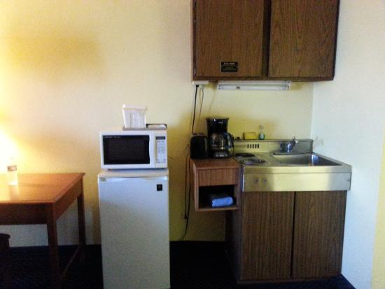 Gulf Towers Resort Motel: Can't do much in this kitchenette