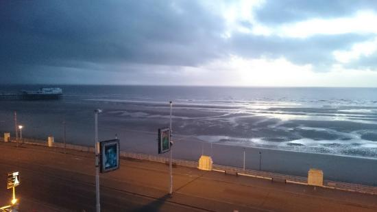 Tiffany's Hotel Blackpool: view from room 321